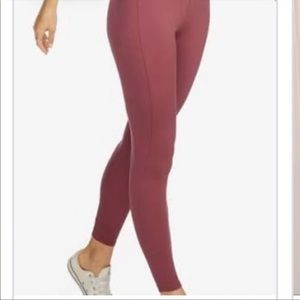 American Giant Power Legging in Mauve Pink